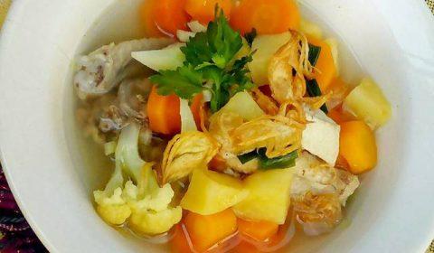 gambar sayur sop